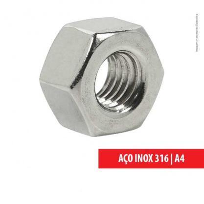 PORCA SEXTAVADA PESADA ASTM A194 INOX 316
