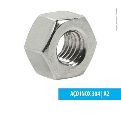 PORCA SEXTAVADA PESADA ASTM A194 INOX 304